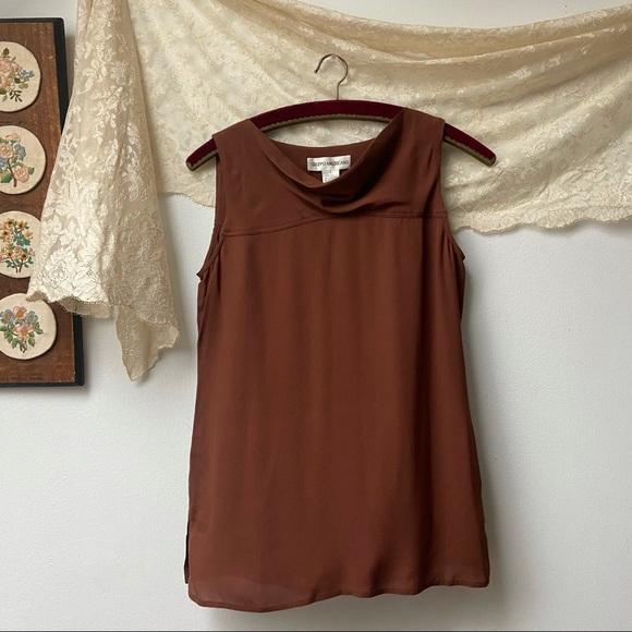 NWT Silk Minimalist Blouse